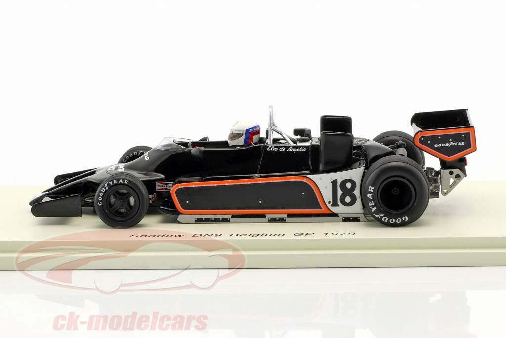 Elio de Angelis Shadow DN9 #18 Belgique GP formule 1 1979 1:43 Spark