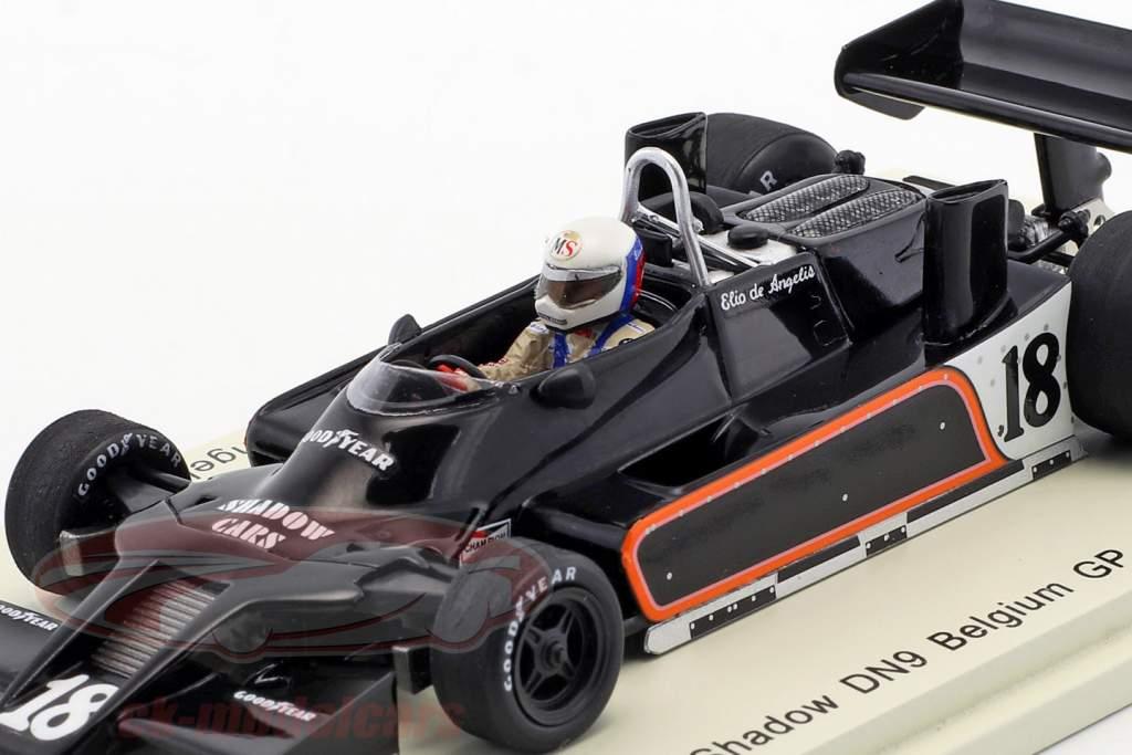 Elio de Angelis Shadow DN9 #18 Belgien GP formel 1 1979 1:43 Spark