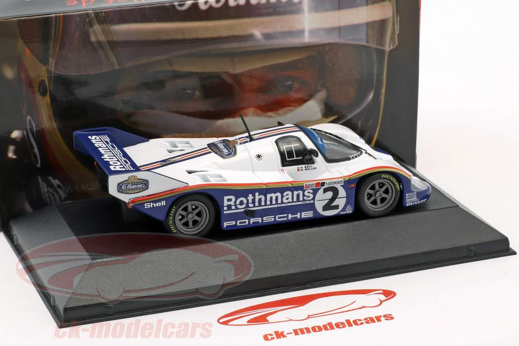 Porsche 956K #2 Vinder 1000km Silverstone 1984 Bellof, Bell 1:43 CMR