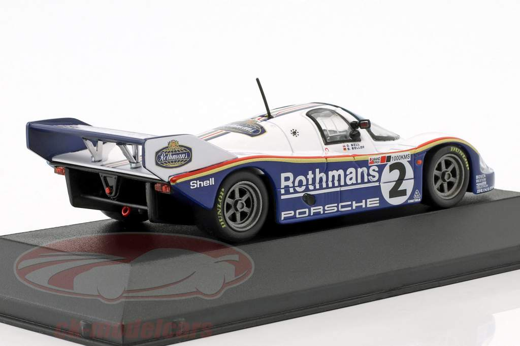 Porsche 956K #2 winnaar 1000km Silverstone 1984 Bellof, Bell 1:43 CMR