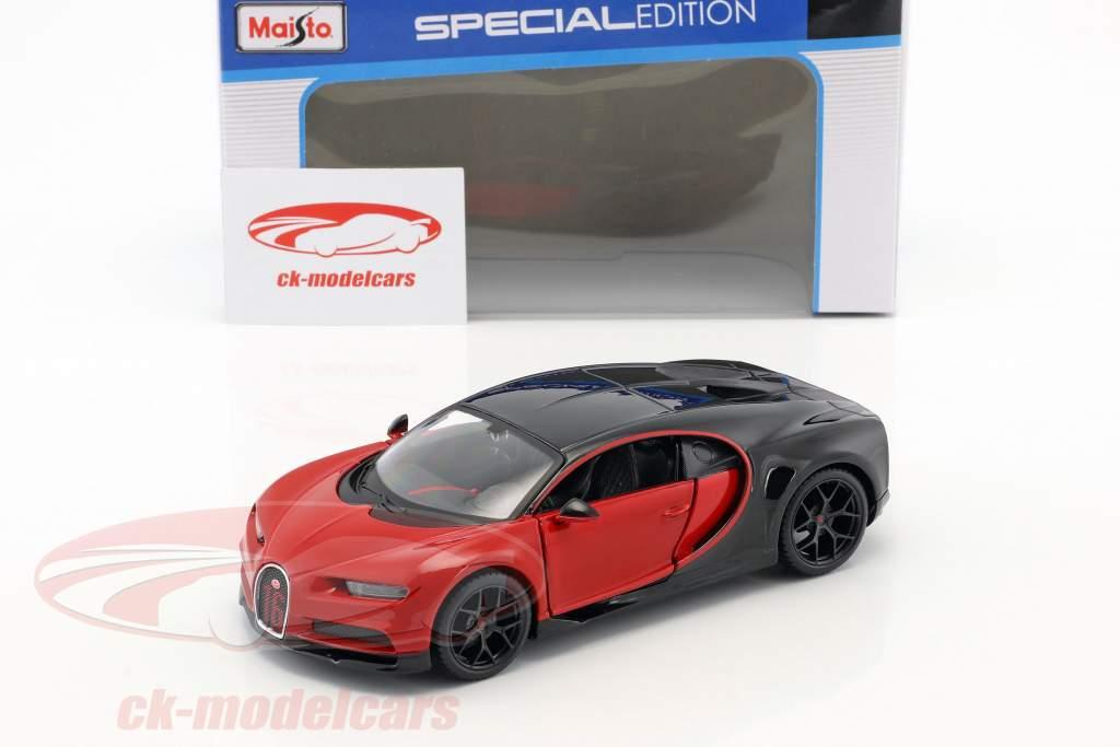 Bugatti Chiron Sport red / black 1:24 Maisto