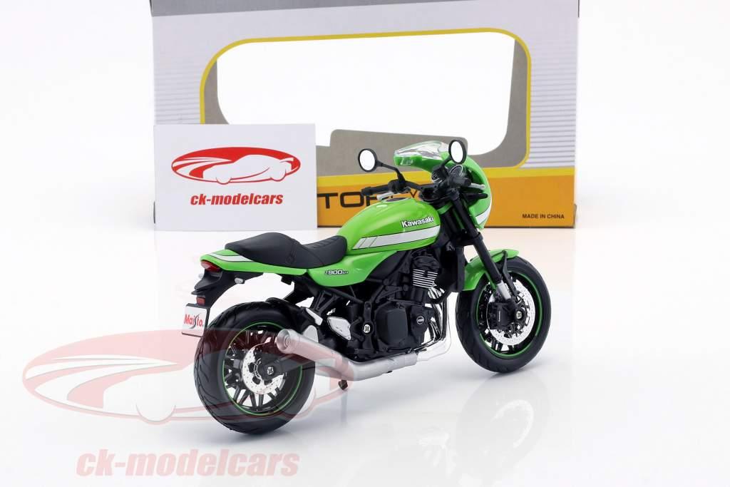 Kawasaki Z900 RS Cafe grün 1:12 Maisto