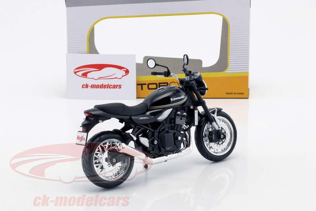 Kawasaki Z900 RS noir 1:12 Maisto