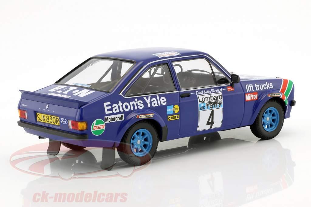 Ford Escort RS 1800 #4 gagnant RAC Rallye 1978 Mikkola, Hertz 1:18 Minichamps