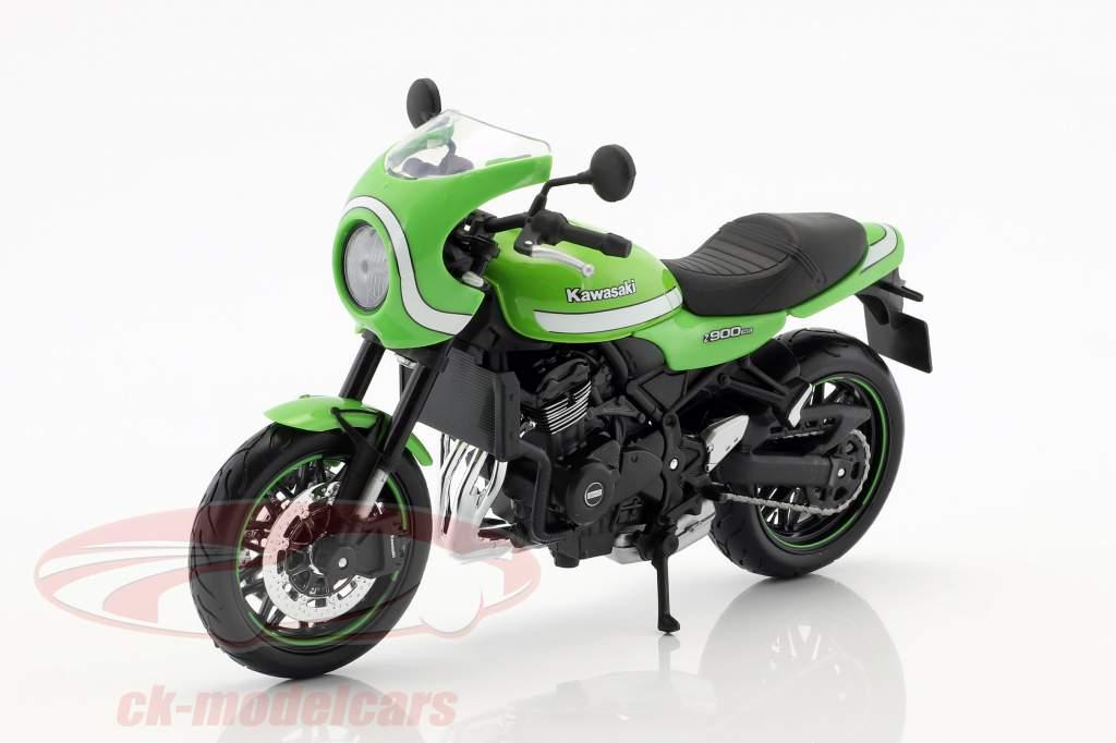 Kawasaki Z900 RS Cafe vert 1:12 Maisto