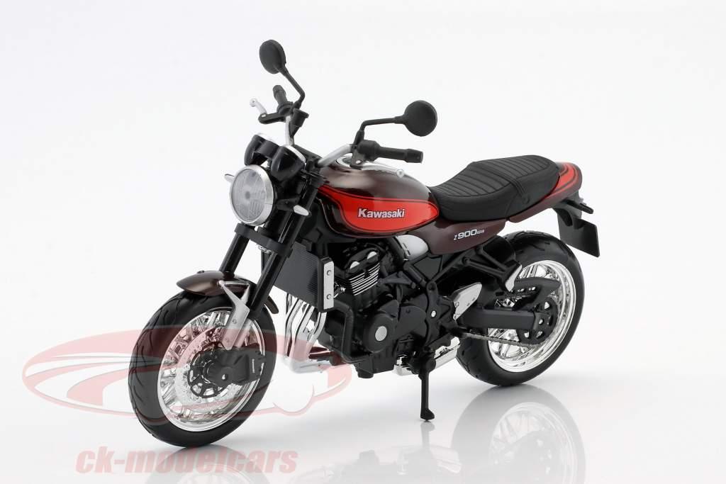 Kawasaki Z900 RS brun / rouge / noir 1:12 Maisto