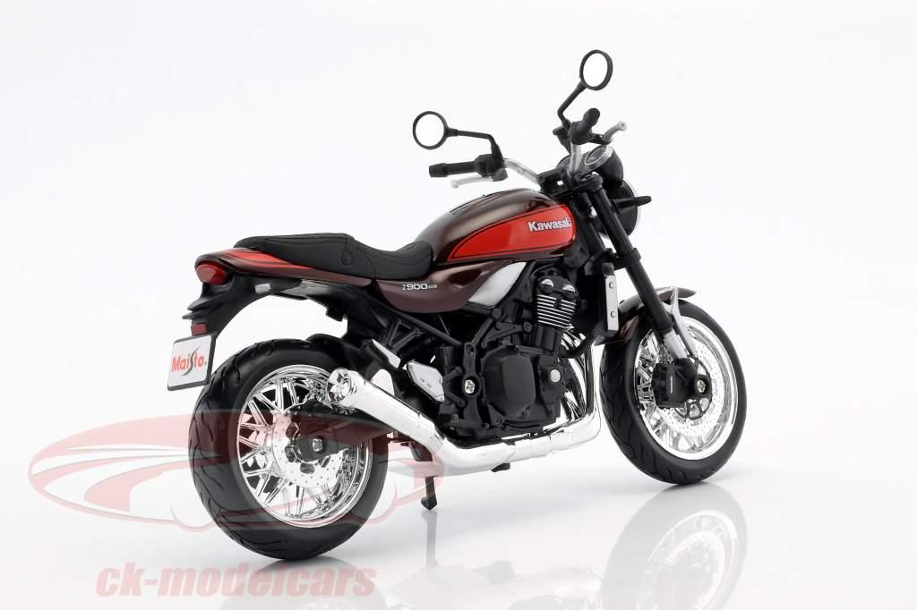 Kawasaki Z900 RS braun / rot / schwarz 1:12 Maisto