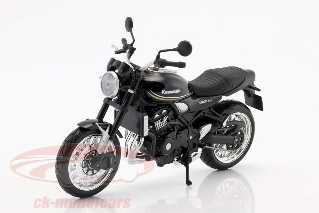 Kawasaki Z900 RS sort 1:12 Maisto