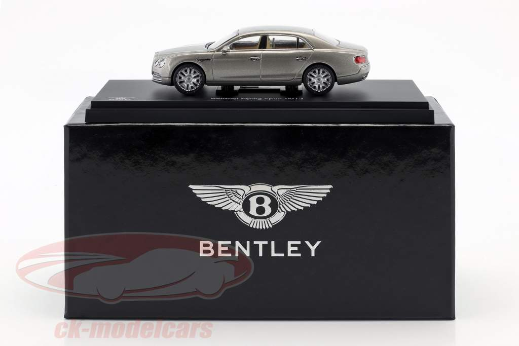 Bentley Flying Spur W12 silver pearl 1:43 Kyosho
