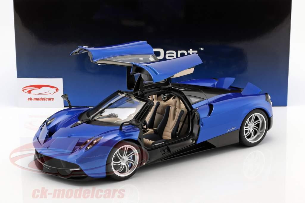 Pagani Huayra Opførselsår 2011 blå metallisk 1:12 AUTOart