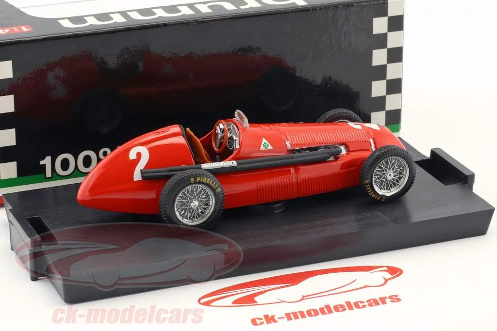 Giuseppe Farina Alfa Romeo 158 #2 Winner Gran Bretagna e Europa GP formula 1 1950 1:43 Brumm