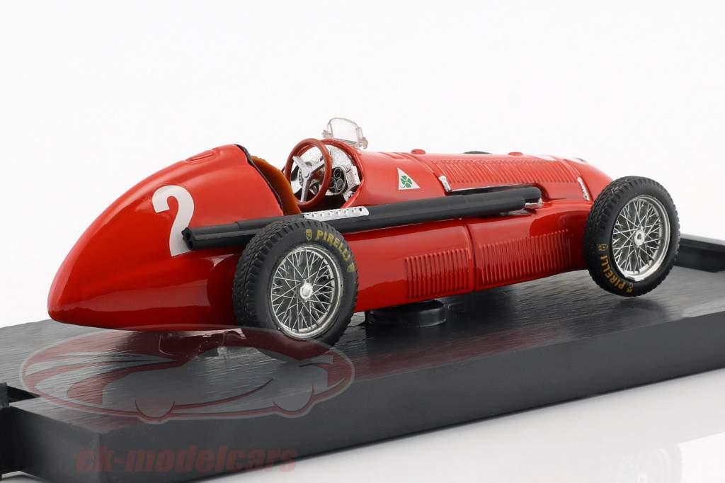 Giuseppe Farina Alfa Romeo 158 #2 Vinder Gran Bretagna e Europa GP formel 1 1950 1:43 Brumm