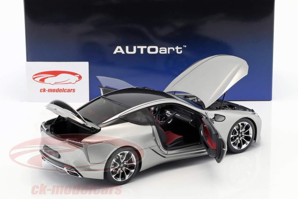 Lexus LC 500 titanium gray metallic 1:18 AUTOart