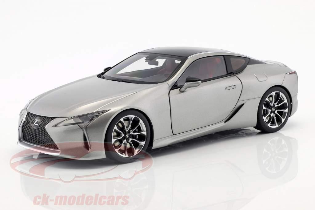 Lexus LC 500 titanium grijs metalen 1:18 AUTOart