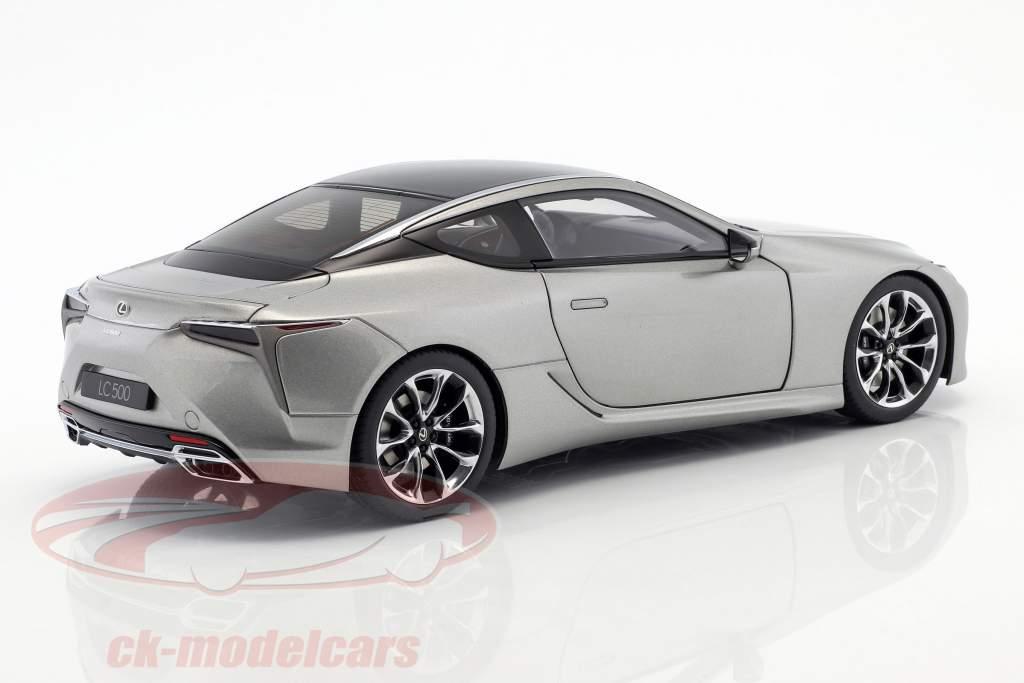 Lexus LC 500 titanio grigio metallico 1:18 AUTOart