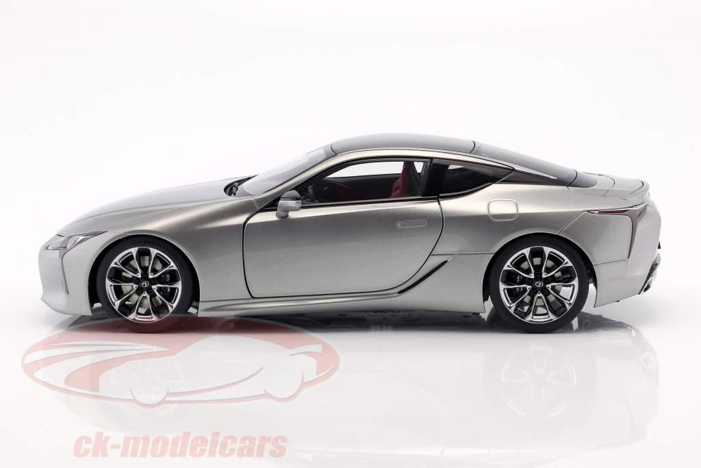 Lexus LC 500 titânio cinza metálico 1:18 AUTOart