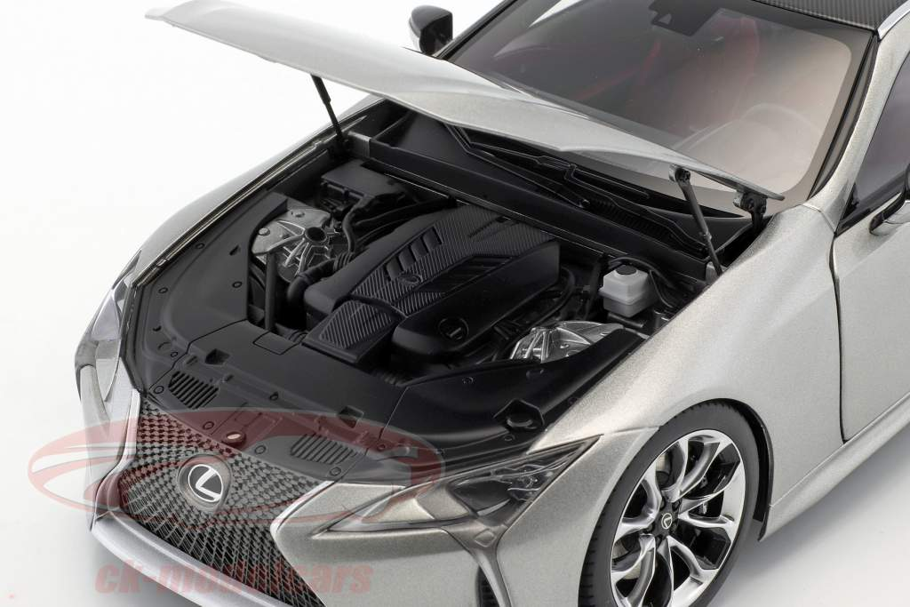 Lexus LC 500 titan grå metallisk 1:18 AUTOart