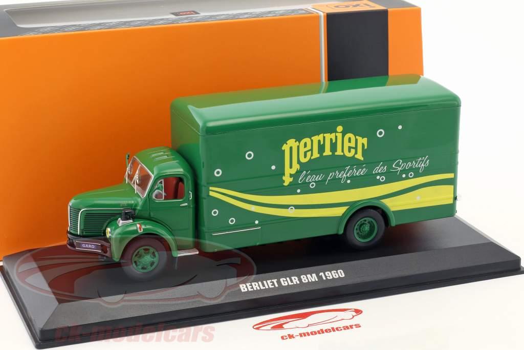 Berliet GLR 8M caminhão Perrier ano de construção 1960 verde / amarelo 1:43 Ixo
