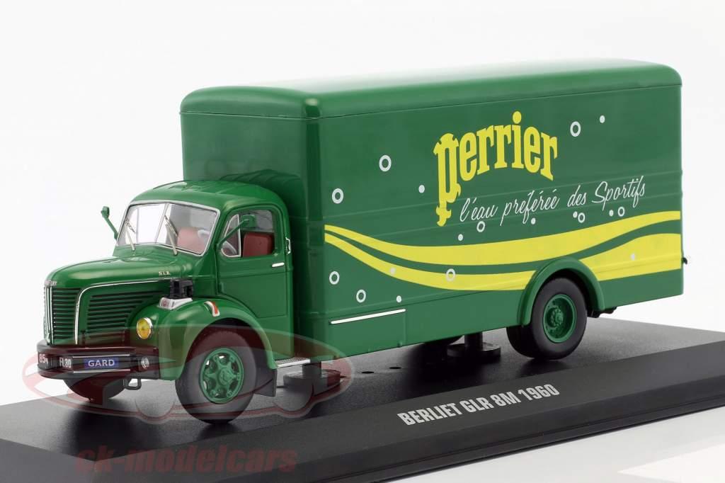 Berliet GLR 8M camion Perrier anno di costruzione 1960 verde / giallo 1:43 Ixo