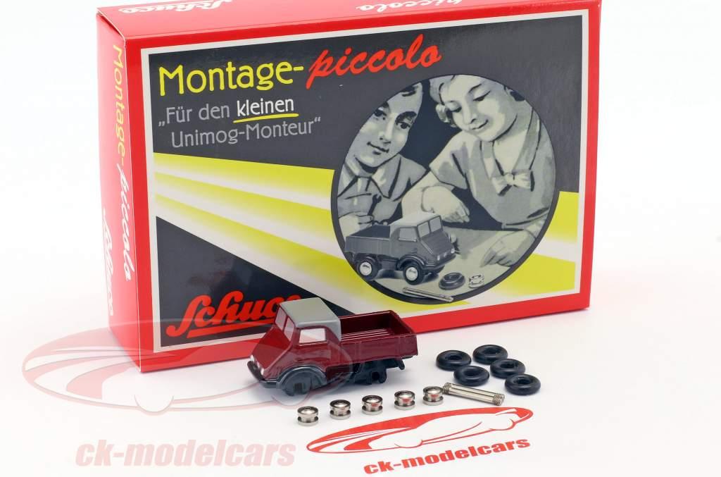 Mercedes-Benz Unimog 401 Construction kit for the little Unimog mechanic 1:90 Schuco Piccolo