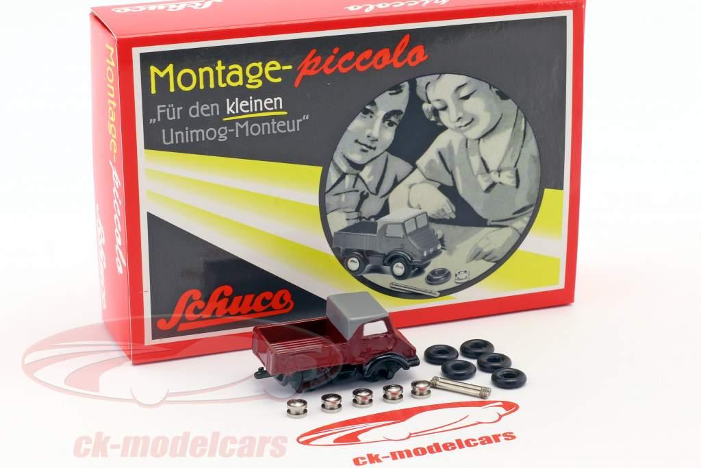 Mercedes-Benz Unimog 401 samling sag til den lille unimog montør 1:90 Schuco Piccolo