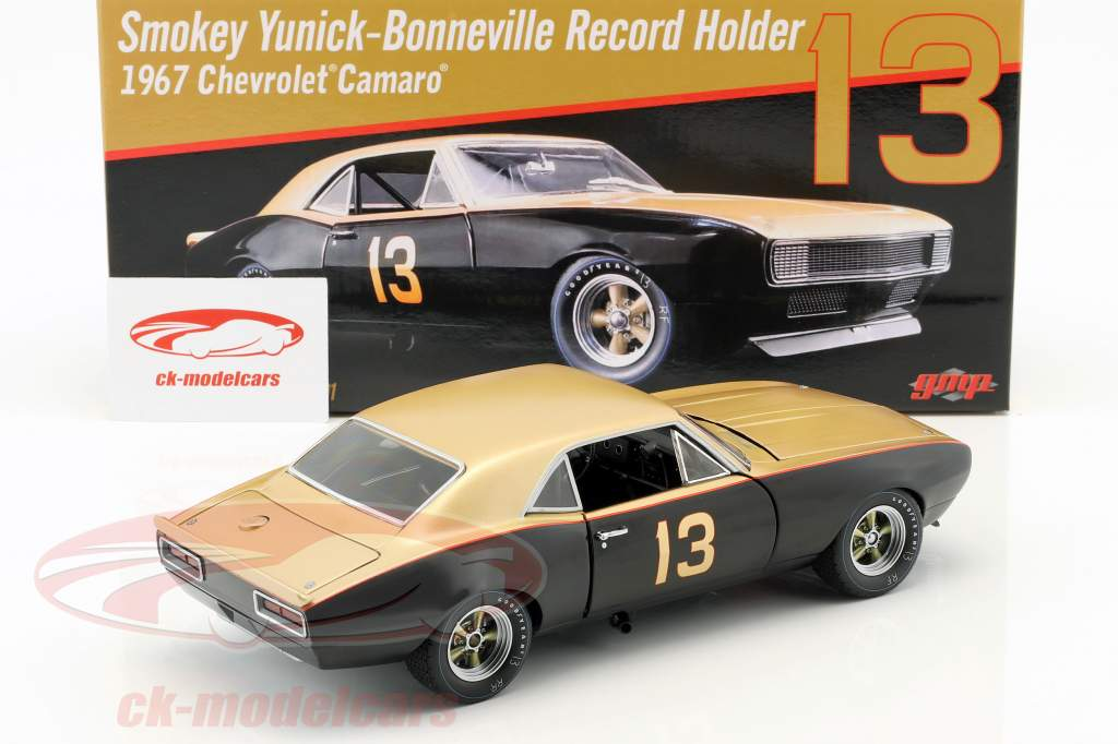 Chevrolet Camaro 1967 Smokey Yunick Bonneville Salt Flats Record Holder 1:18 GMP