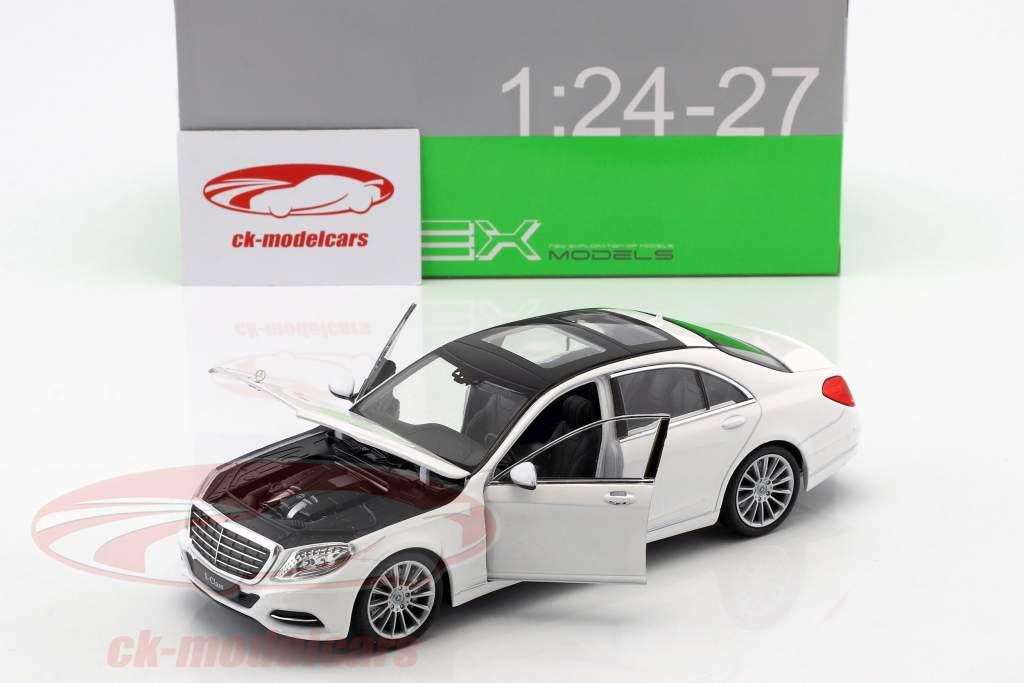 Mercedes-Benz S-Klasse (W222) Baujahr 2015 weiß 1:24 Welly