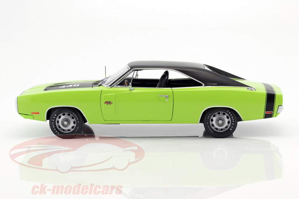 Dodge Charger R/T SE année de construction 1970 sublime vert 1:18 Greenlight