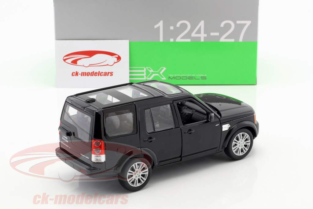 Land Rover Discovery Opførselsår 2010 sort 1:24 Welly