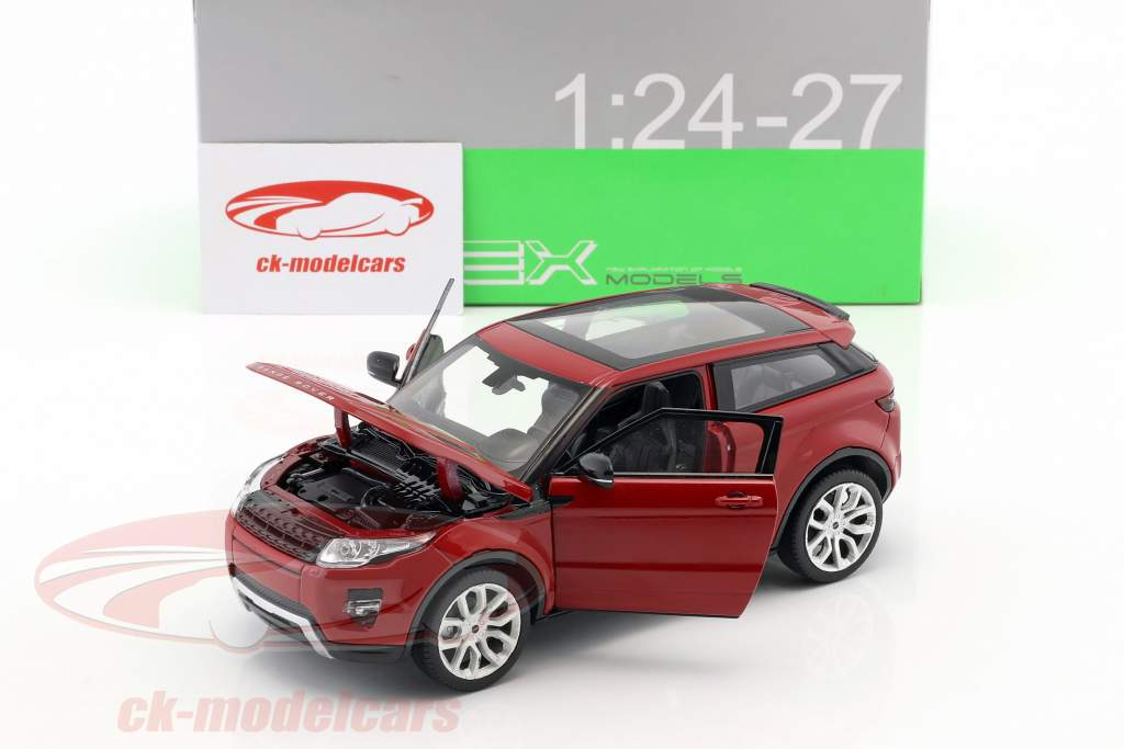 Range Rover Evoque année de construction 2011 firenze rouge 1:24 Welly
