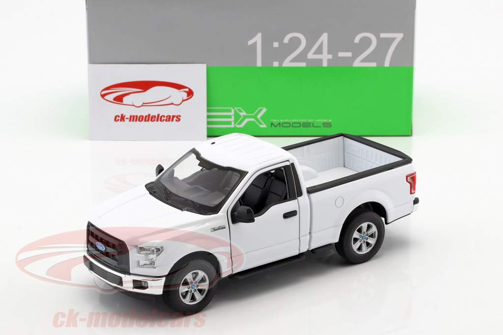 Ford F-150 Regular Cab Pick-Up année de construction 2015 blanc 1:24 Welly