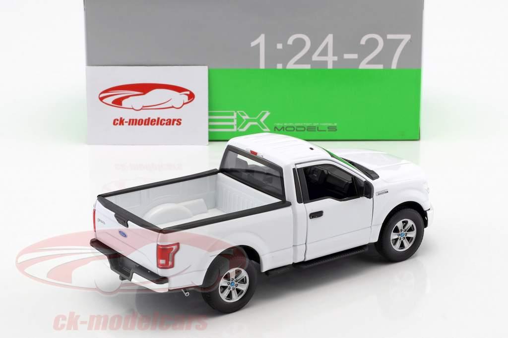 Ford F-150 Regular Cab Pick-Up Baujahr 2015 weiß 1:24 Welly