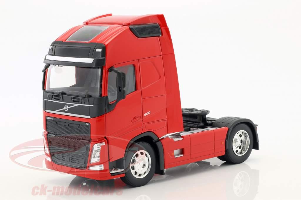 Volvo FH (4x2) trator ano de construção 2016 vermelho 1:32 Welly