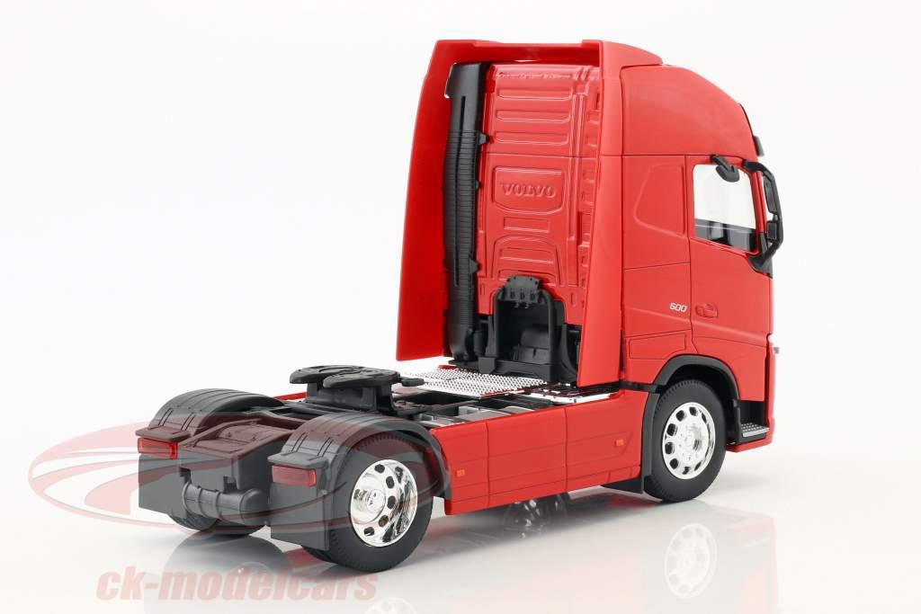 Volvo FH (4x2) Traktor Opførselsår 2016 rød 1:32 Welly