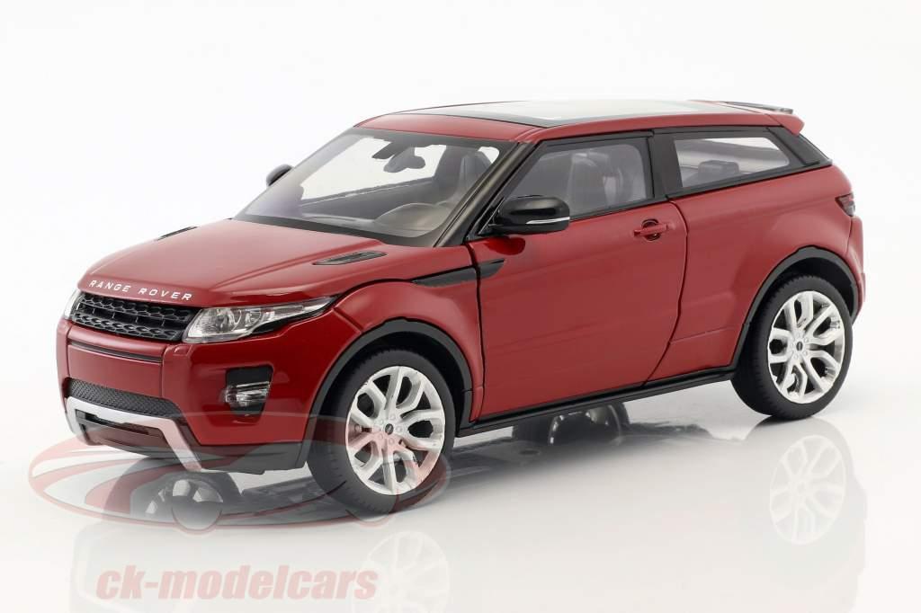 Range Rover Evoque Bouwjaar 2011 firenze rood 1:24 Welly
