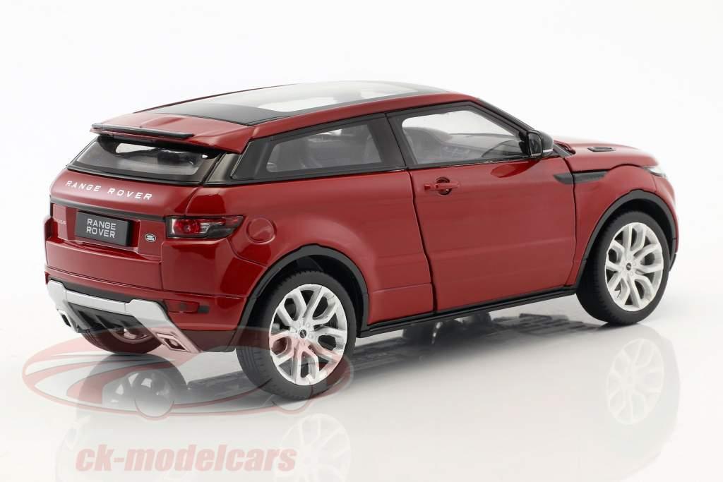 Range Rover Evoque Opførselsår 2011 firenze rød 1:24 Welly