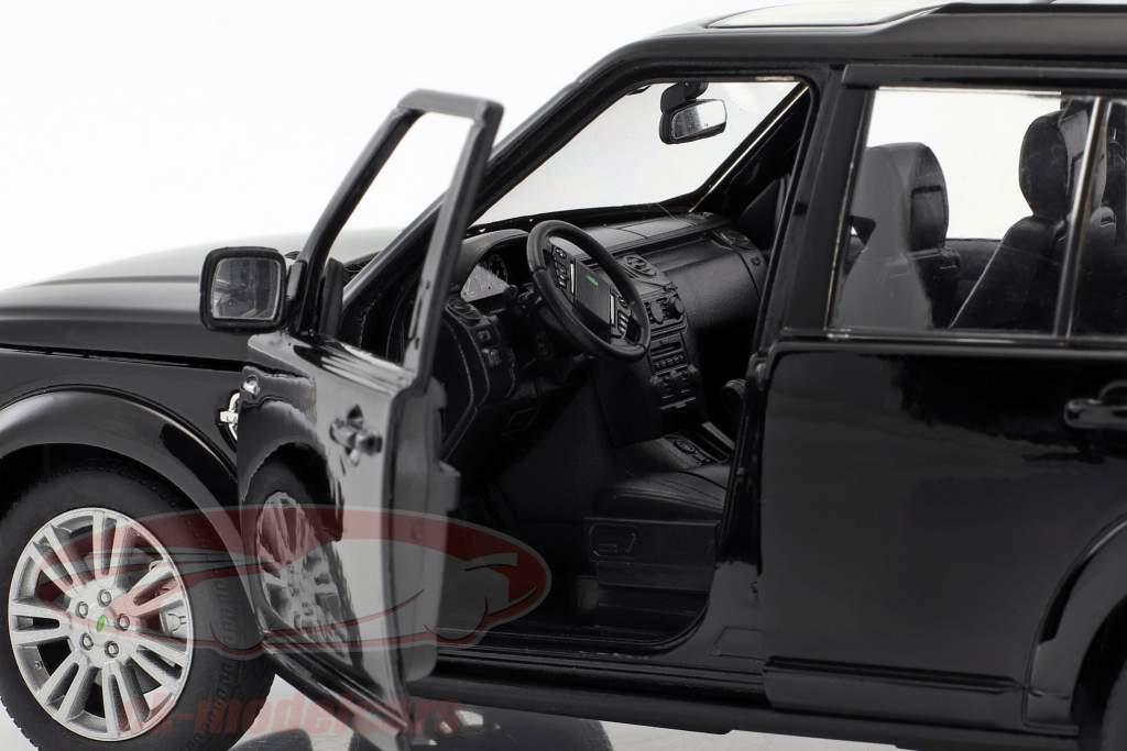 Land Rover Discovery Baujahr 2010 schwarz 1:24 Welly
