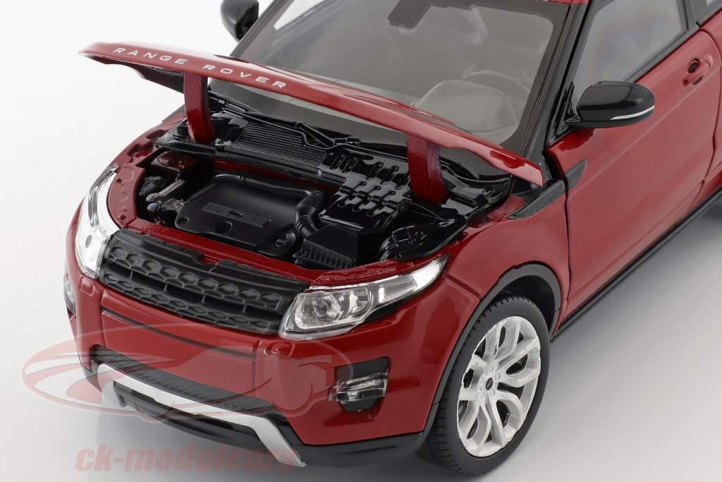 Range Rover Evoque Baujahr 2011 firenze rot 1:24 Welly