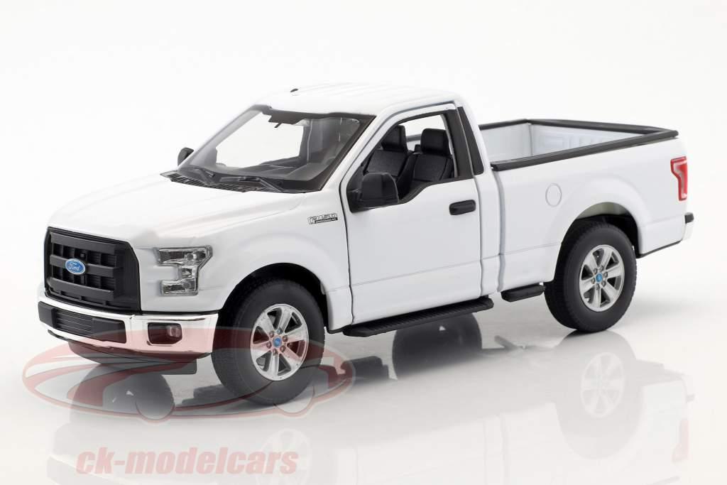 Ford F-150 Regular Cab Pick-Up ano de construção 2015 branco 1:24 Welly