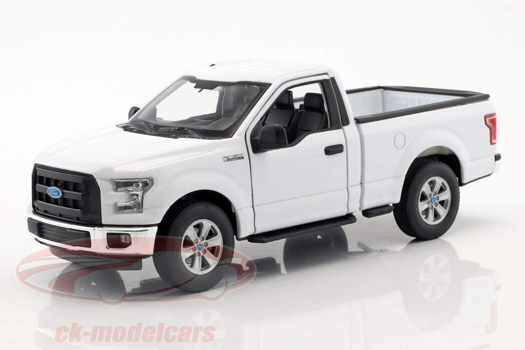Ford F-150 Regular Cab Pick-Up Opførselsår 2015 hvid 1:24 Welly