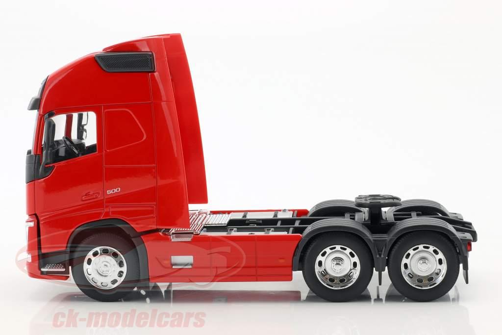 Volvo FH (6x4) trator ano de construção 2016 vermelho 1:32 Welly