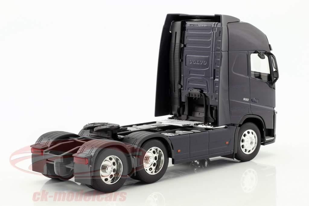Volvo FH (6x4) Traktor Opførselsår 2016 mørk blå 1:32 Welly