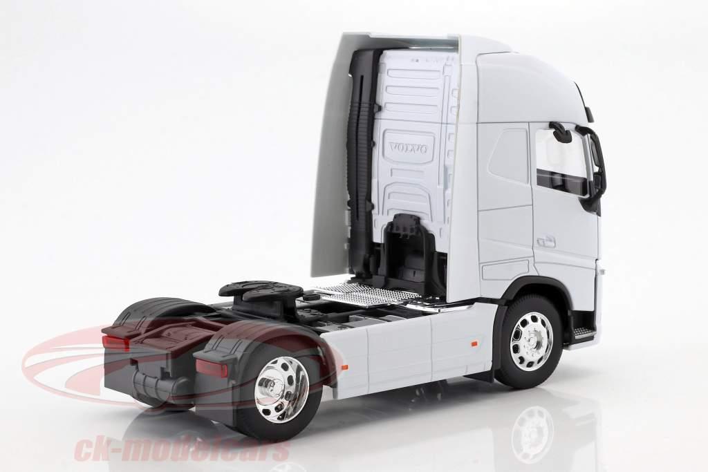 Volvo FH (4x2) trator ano de construção 2016 branco 1:32 Welly