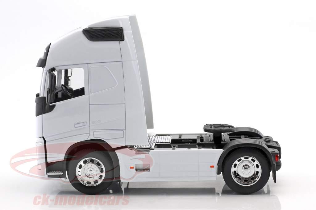 Volvo FH (4x2) trekker Bouwjaar 2016 wit 1:32 Welly