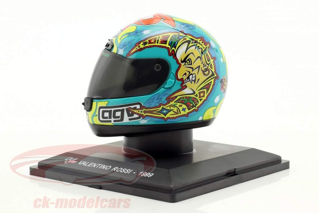 Valentino Rossi World Champion 250cm³ 1999 helmet 1:5 Altaya / 2. choice