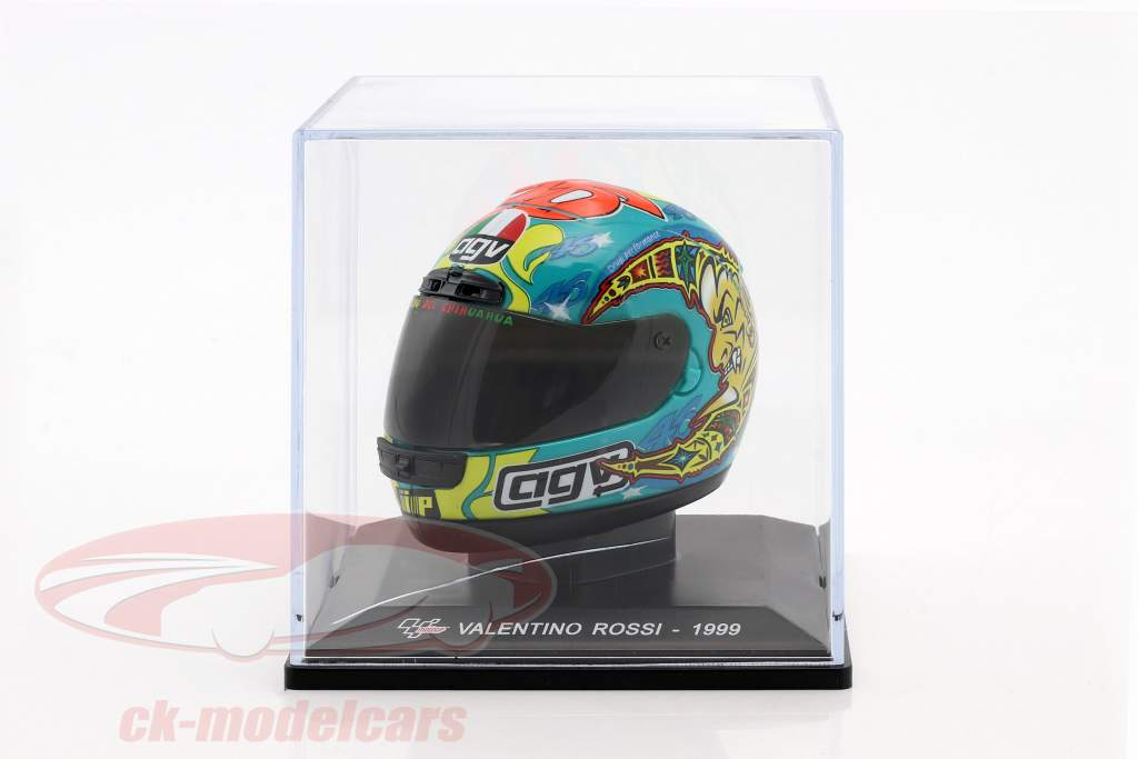 Valentino Rossi Weltmeister 250cm³ 1999 Helm 1:5 Altaya / 2. Wahl