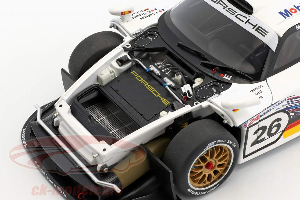Porsche 911 GT1 #26 24h LeMans 1997 Collard, Kelleners, Dalmas 1:18 AUTOart