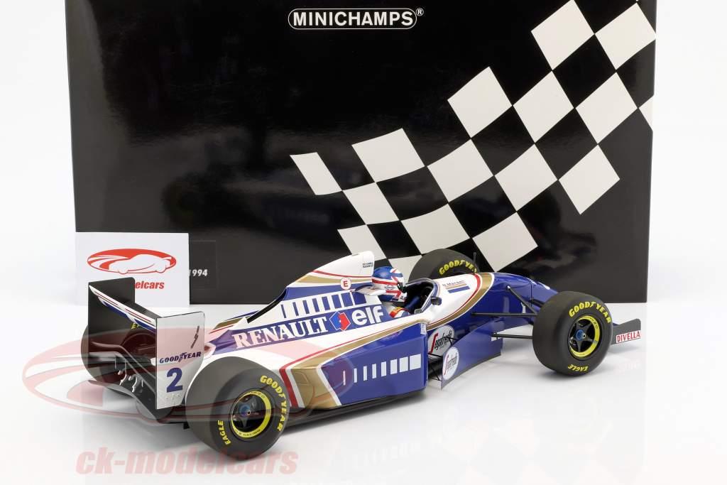 Nigel Mansell Williams FW16 #2 Comeback Frankreich GP F1 1994 1:12 Minichamps