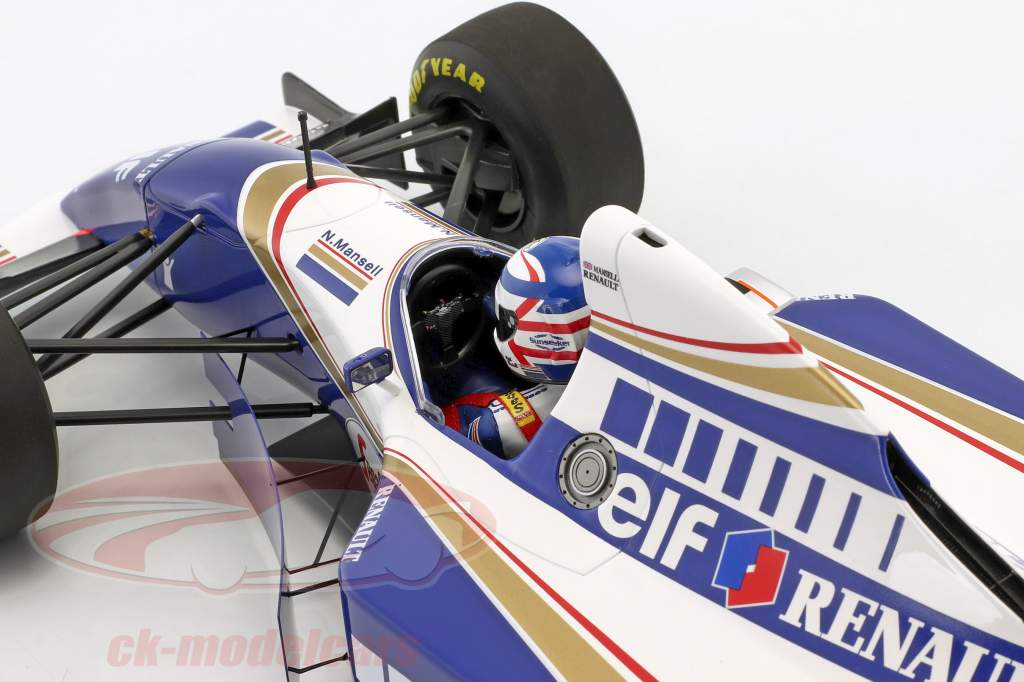 Nigel Mansell Williams FW16 #2 Comeback fransk GP formel 1 1994 1:12 Minichamps