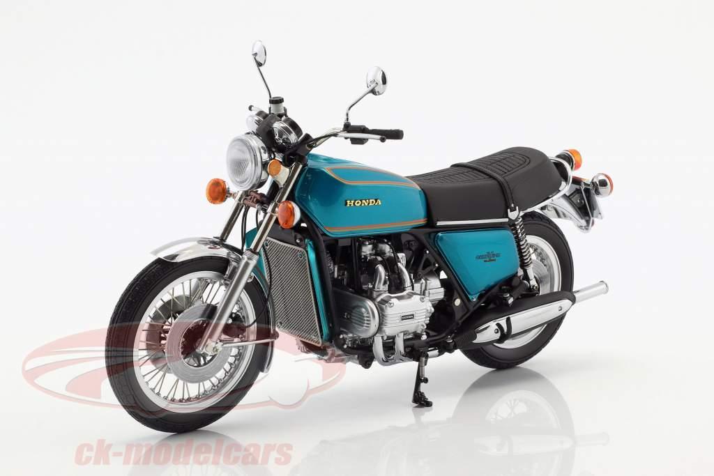 Honda Goldwing GL 1000 K0 Baujahr 1975 türkis metallic 1:12 Minichamps